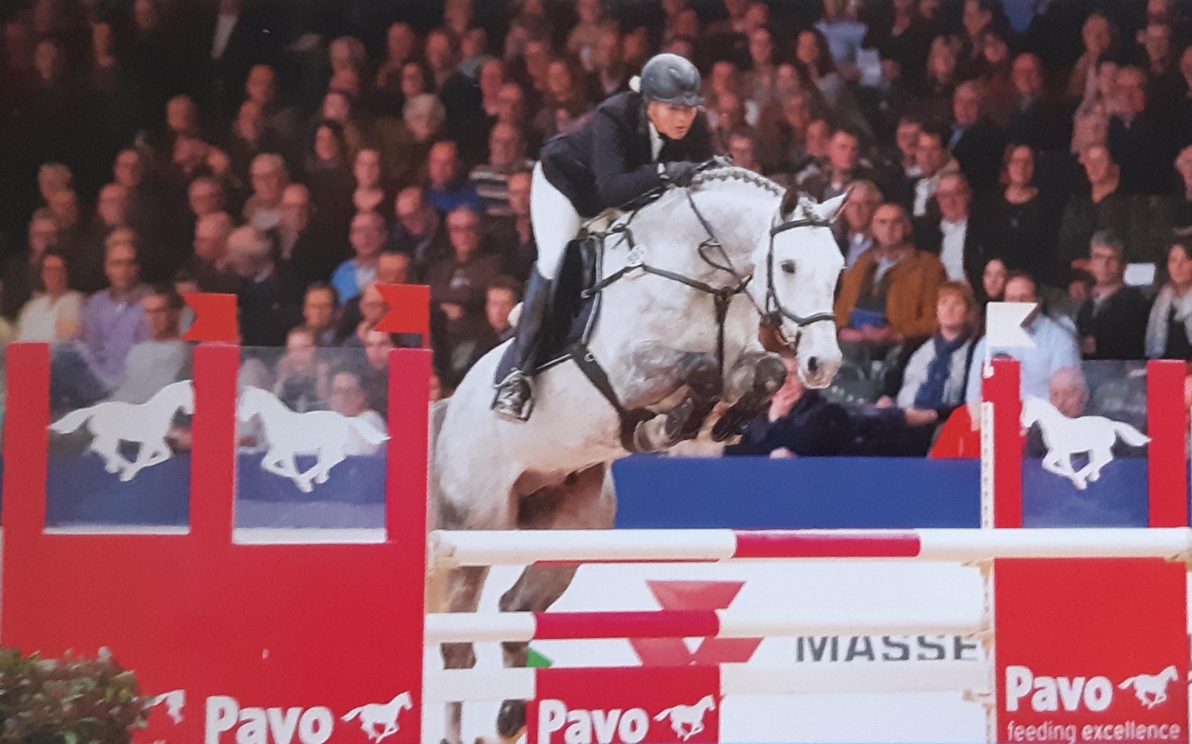 Ruig springende, imponerende zoon van de legendarische levende legende Cornet Obolensky
